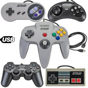 Retro Power USB Classic Controllers