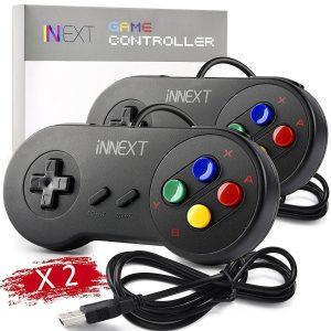 iNNEXT Retro SNES USB Controller Gamepad
