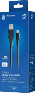 PowerA USB Charging Cable for PlayStation 4