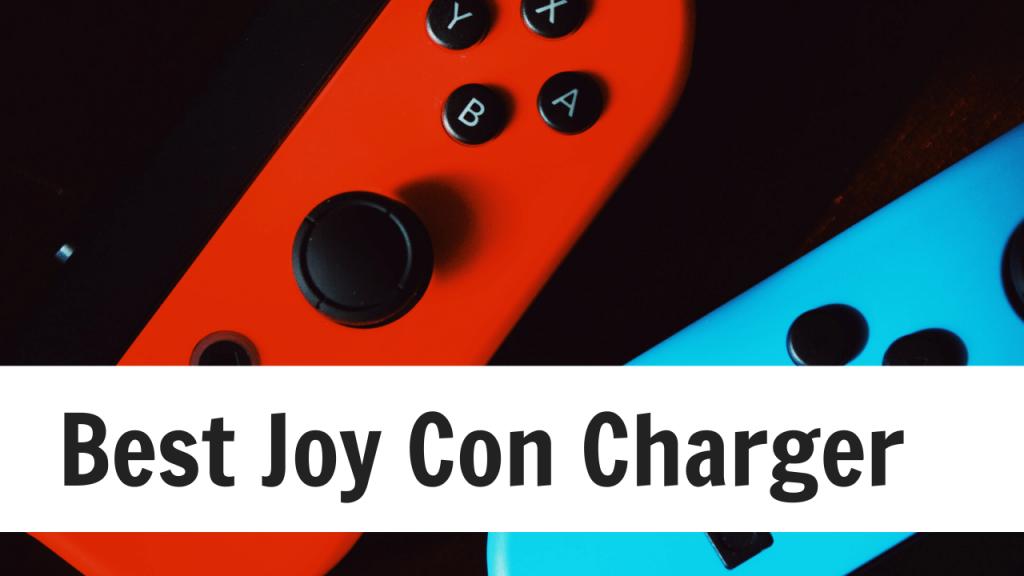 Best Joy Con charger
