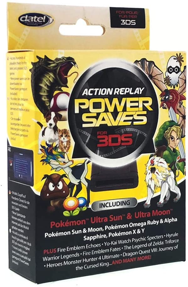 Action Replay Power Saves – Cheat Device
