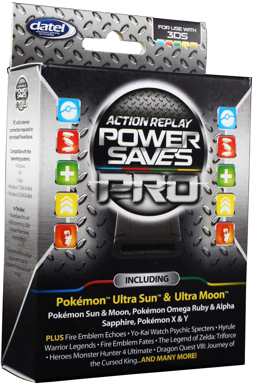 Datel Action Replay – Power Saves Pro